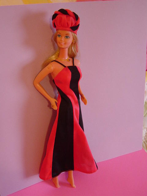 Fashion Photo Barbie wearing Best Buy #9967 from 1977.